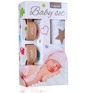 T-tomi Baby Set – béžové hviezdičky - Detská súprava