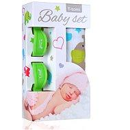 T-tomi Baby Set - zelené slony - Detská súprava