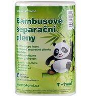 T-tomi Bambusové separačné plienky - Eko plienky