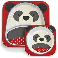 Skip hop Zoo Jedálenská súprava - Panda - Detská jedálenská súprava