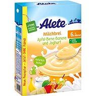 ALETE Mliečna krupicová kaša jogurtová s ovocím 400 g - Mliečna kaša