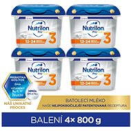 Nutrilon 3 Profutura Toddler Milk, 12+, 4×800g - Baby Formula