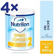 Nutrilon 2 Omneo Comfort špeciálne pokračovacie mlieko 6+ 4× 400 g