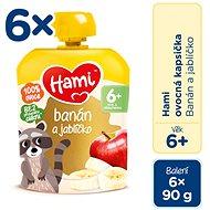 Hami Banán a jabĺčko 6× 90 g