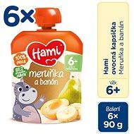 Hami Marhuľa a banán 6× 90 g