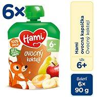 Hami Ovocný koktail 6× 90 g