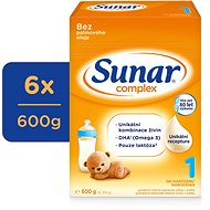 Sunar Complex 1, 6x 600g - Baby Formula