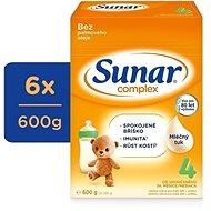 Sunar Complex 4 Batoľacie dojčenské mlieko 6 × 600 g - Dojčenské mlieko