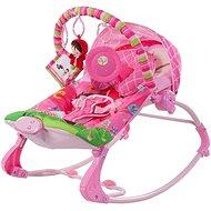 SUN BABY Ležadlo Ružové dievčatko - Detské ležadlo