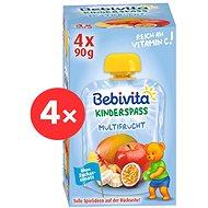 BEBIVITA Ovocný mix 4× 360 g