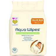 AQUA WIPES ECO 4× 64 Pcs - Baby Wet Wipes