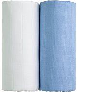 T-tomi TETRA Osušky 2 ks white + blue