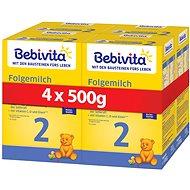 BEBIVITA 2 Pokračovacia dojčenská výživa 6m+  4× 500 g
