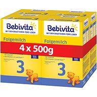 BEBIVITA 3 Pokračovacia dojčenská výživa 9m+  4× 500 g