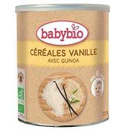BABYBIO Ryžová kaša s quinoou a vanilkou 220 g - Nemliečna kaša