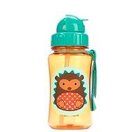 Skip hop Zoo Fľaška s slamkou - Ježko - Detská fľaša
