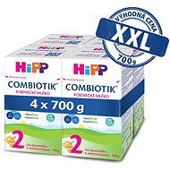 HiPP 2 BIO Combiotik 4× 700 g - Dojčenské mlieko