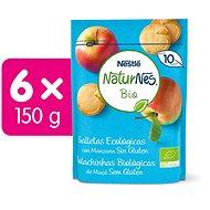 NESTLE NATURNES BIO Sušienky 6× 150 g - Sušienky pre deti