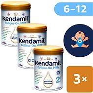 Kendamil pokračovacie mlieko 2 DHA+ (3× 900 g) - Dojčenské mlieko