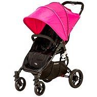 VALCO SNAP 4 BLACK - ružová strieška - Kočík