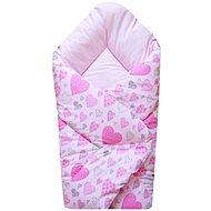 COSING SLEEPLEASE Heart Pink - Swaddle Blanket