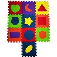COSING EVA Puzzle podložka – Tvary (10 ks)