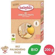 BABYBIO Detská BIO kaša ryžová s quinoa ovocná 200 g - Nemliečna kaša