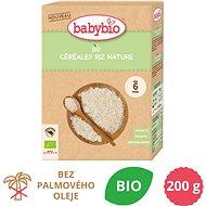 BABYBIO Detská BIO kaša ryžová Natur 200 g - Nemliečna kaša