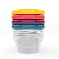 BABYMOOV Color Bowls with Lids 120ml - 4 Pcs - Bowl Set