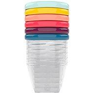 BABYMOOV Colour Bowls with Lids 250ml - 6 Pcs - Bowl Set