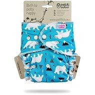 PETIT LULU Maxi Night Diaper Pat - Polar Bears - Nappies
