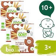 Good Gout BIO Kakaové kolieska 3× 70 g - Sušienky pre deti