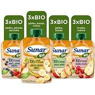 Sunar Organic Mix Box 12× 100g - Baby Food