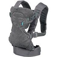 Infantino Flip Advanced 4 v 1 Grey - Nosič pre dieťa