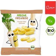 Freche Freunde BIO Chrumky – Paštrnák 4× 20 g - Chrumky pre deti