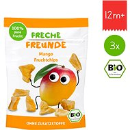 Freche Freunde BIO Ovocné chipsy – Mango 3× 14 g - Sušienky pre deti