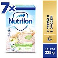 Nutrilon Pronutra Kaša 7 cereálií s ovocím 7× 225 g - Mliečna kaša