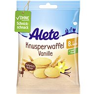 ALETE Vaflové oplátky svanilkovou príchuťou 8× 6 g - Sušienky pre deti