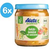 ALETE BIO Zelenina s makarónmi a smotanou 6× 250 g - Príkrm