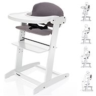 ZOPA Grow-up Growing Chair White/Grey - High Chair