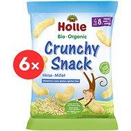 HOLLE Bio chrumky pšenové 6× 25 g - Chrumky pre deti