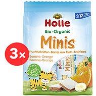 HOLLE Organické minis banánové s pomarančom 4 ks - Sušienky pre deti