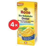 HOLLE Špaldové keksy 4 ks - Sušienky pre deti