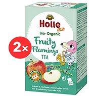 HOLLE Bio Ovocný Flamingo čaj s feniklom 2 × 30 g - Detský čaj