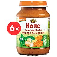 Holle Bio Zeleninová zmes 6 ks - Príkrm