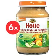 Holle Bio Cuketa a tekvica so zemiakmi 6 ks - Príkrm