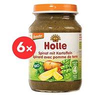Holle Bio Špenát so zemiakmi 6 ks - Príkrm