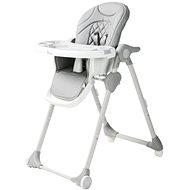 Bo Jungle B-Dinner Chair Wheely sivá - Stolička na kŕmenie