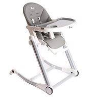 Bo Jungle B-High Chair sivá - Stolička na kŕmenie