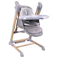 Bo Jungle B-Swinging Chair Wood - Stolička na kŕmenie